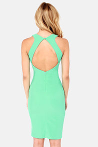 Go-Glitter Mint Green Sequin Dress at Lulus.com!