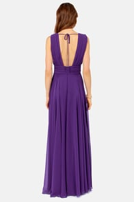 Rubber Ducky Just a Dream Purple Dress at Lulus.com!