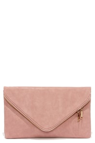Encore, Encore! Blush Pink Clutch at Lulus.com!