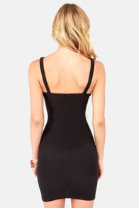 X Appeal Black Bodycon Dress at Lulus.com!