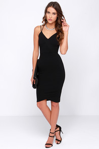 LULUS Exclusive Get Your Chic On Black Bodycon Dress at Lulus.com!