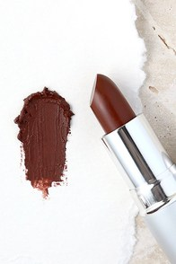 image The Balm Girls Amanda Kissmylips Dark Maroon Lipstick
