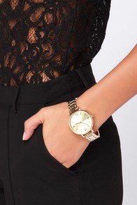 Hour Love Gold Watch
