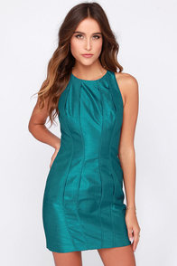Keepsake Where I Find You Teal Blue Dress at Lulus.com!