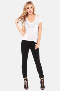 Billabong Hossegor Heights Black Skinny Jeans