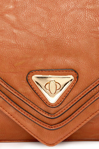 Side By Side Tan Purse at Lulus.com!
