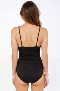 Loop Dreams Cutout Black Bodysuit at Lulus.com!