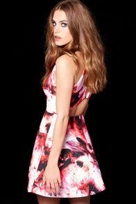 Keepsake Adore You Hot Pink Floral Print Dress at Lulus.com!