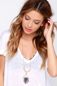 Magic Charming Iridescent Crystal Necklace at Lulus.com!