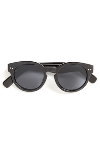 Milano Black Sunglasses at Lulus.com!