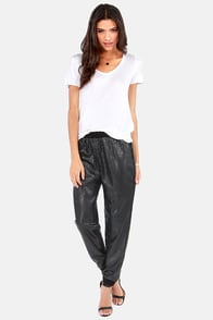 Gentle Fawn Rocha Black Sequin Harem Pants at Lulus.com!