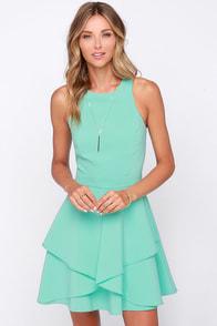 Hold Me Closer Mint Dress at Lulus.com!