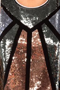 Bursting With Joy Sleeveless Black Sequin Top at Lulus.com!