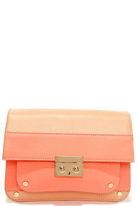 Be Bright There Blush and Coral Purse at Lulus.com!