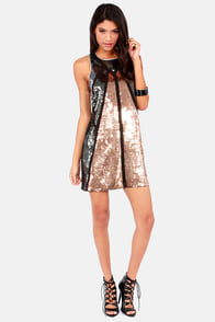 Glitz Carlton Black Sleeveless Sequin Dress at Lulus.com!