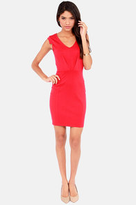 Romantic Melodies Red Dress at Lulus.com!