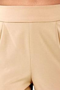 Now You're Walking! Taupe Harem Pants at Lulus.com!