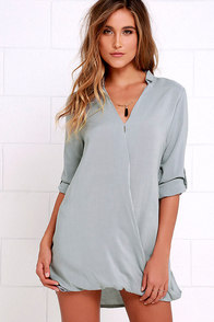 Twist and That Grey Dress at Lulus.com!