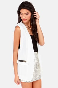 Vest to Impress Ivory Vest at Lulus.com!