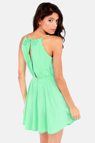Lucy Love Penelope Mint Green Dress at Lulus.com!