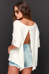 Amuse Society Sadie Cream Top at Lulus.com!