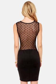 TFNC Genny Cutout Black Dress at Lulus.com!