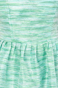 What Dreams are Mermaid of Strapless Green Dress at Lulus.com!