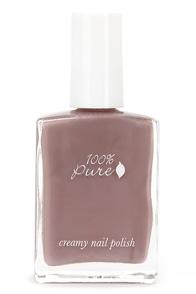 100% Pure Gelato Creamy Mauve Nail Polish at Lulus.com!