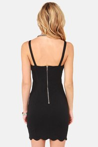 Sugar, Spice, and Everything Nice Black Bodycon Dress at Lulus.com!