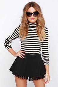 Others Follow Kaya Black Lace Shorts at Lulus.com!