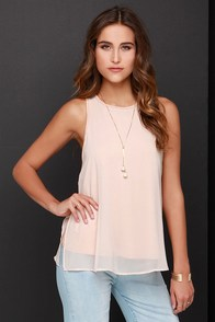 Final Chance Blush Tunic Top at Lulus.com!