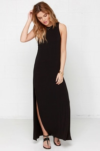 The Fifth Label Adore You Black Maxi Dress at Lulus.com!
