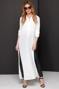A For Effortless Ivory Maxi Top at Lulus.com!