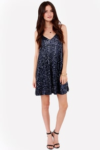 Rise and Shine Navy Blue Sequin Dress at Lulus.com!