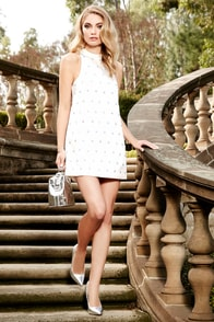 Keepsake Come a Little Closer Ivory Sequin Dress at Lulus.com!