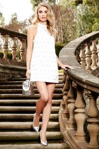 Keepsake Come a Little Closer Ivory Sequin Dress at Lulus.com!