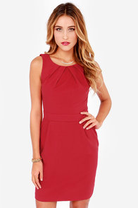 Lace Against Time Wine Red Lace Dress at Lulus.com!