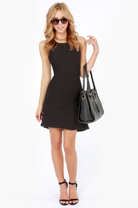 Good Game Black Dress at Lulus.com!