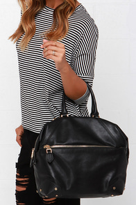 Something to Say Black Handbag by Urban Expressions at Lulus.com!