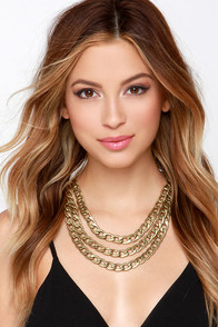 Antique Your Time Gold Chain Necklace at Lulus.com!