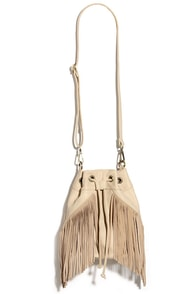 Best in the West Beige Bucket Bag at Lulus.com!