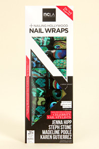 NCLA Fowl Play Peacock Nail Wraps at Lulus.com!