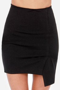 To the Letter Black Envelope Skirt at Lulus.com!