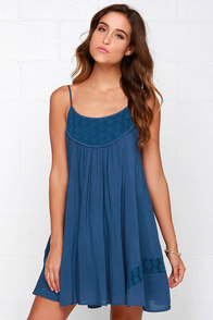 Time of Our Lives Navy Blue Lace Dress at Lulus.com!