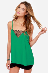 Camisole You Need Green Tank Top at Lulus.com!