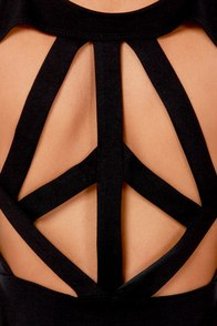 LULUS Exclusive Pretty Committee Backless Black Dress at Lulus.com!