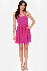 Got the Hots Fuchsia Dress at Lulus.com!