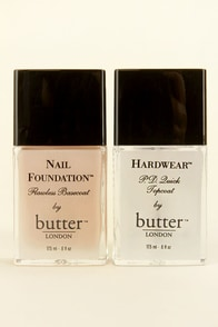 Butter London Top & Tails Set at Lulus.com!