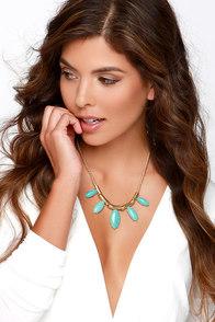 Desert Dreams Turquoise Necklace at Lulus.com!