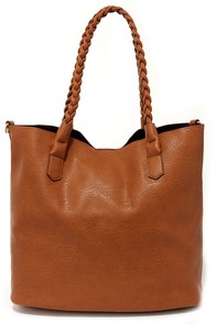 Braid Ya Look Tan Tote at Lulus.com!